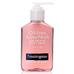 Oil Free Acne Wash Pink Grapefruit Facial Cleanser